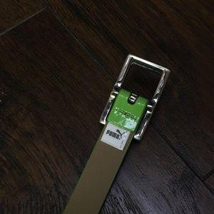 Puma Accessories - Puma lime green belt